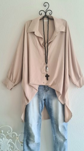 Made in Italy Lange blouse beige