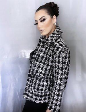 oversize look hochwertige jacke aus dickem wollstoff