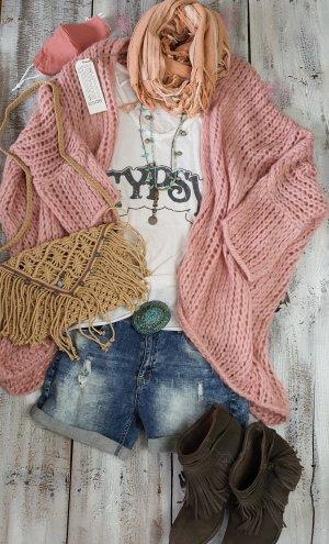 code Ibiza Veste oversize vieux rose-rosé