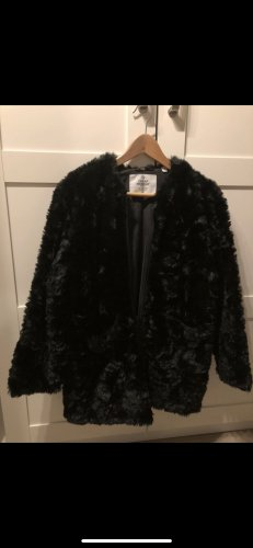Cheap Monday Fur Jacket black