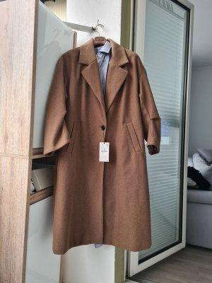Oversize Mantel Gr. XL Zara Braun wolle