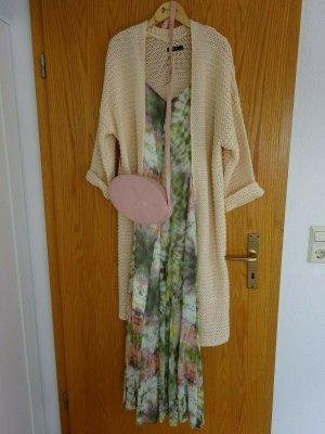 Reserved Manteau en tricot rose clair