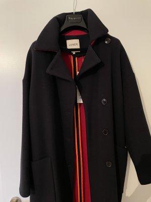 Lener Cordier Płaszcz oversize ciemnoniebieski-ciemnoczerwony