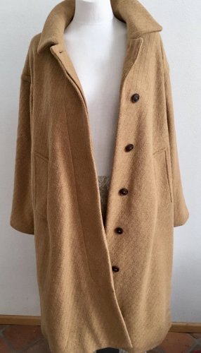 And Less Oversized Coat multicolored