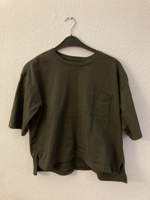 Oversize Muji Crop-Top