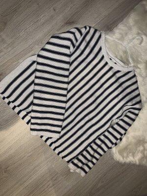 Oversized Sweater black-white