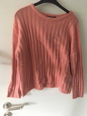Amisu Oversized Sweater salmon-apricot