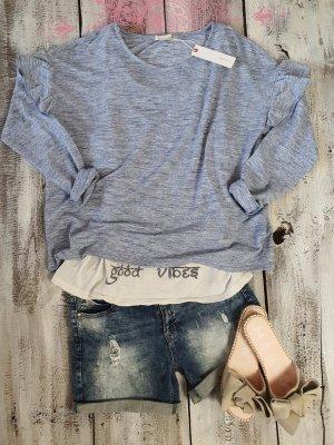 Esprit Oversized Sweater azure
