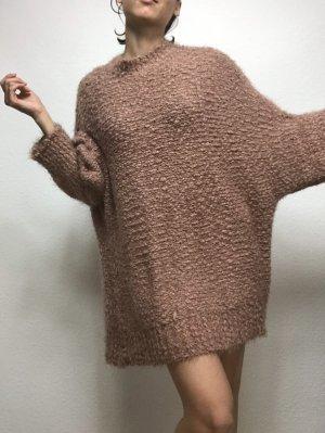 Boohoo Sweater Dress beige
