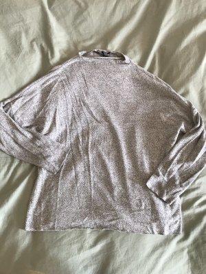 Vero Moda Sweter oversize szary