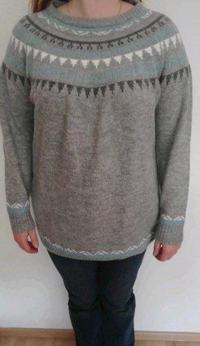 Esmara Pull oversize gris clair