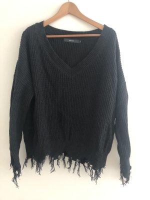 Vero Moda Oversized Sweater black