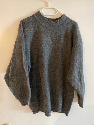 Fashion Affairs Oversized Sweater dark grey