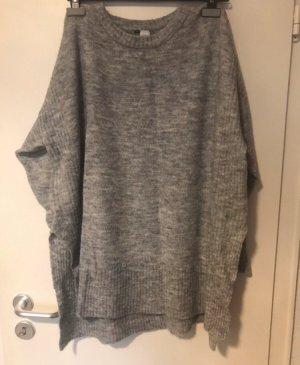 H&M Maglione oversize grigio