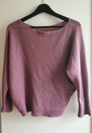 Sweter oversize Wielokolorowy Wełna z alpaki