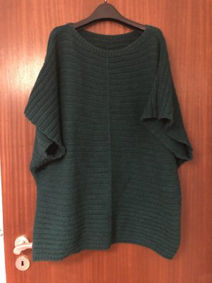 Oversized Sweater forest green