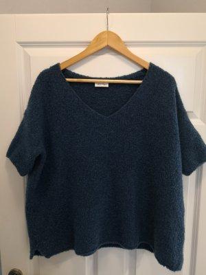 American Vintage Jersey holgados azul oscuro
