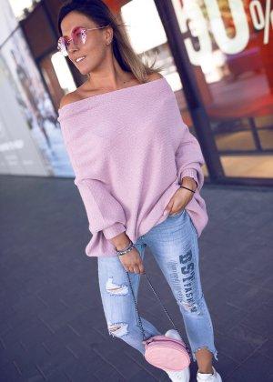 Bastet Oversized Sweater dusky pink-pink