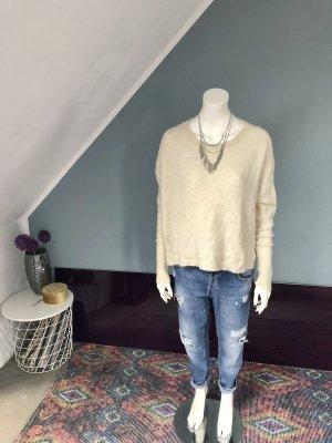 Lindex Pullover a maglia grossa crema-bianco sporco