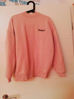 Topshop Jersey holgados color rosa dorado