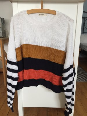 24Colours Oversized Sweater multicolored
