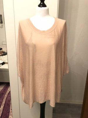 H&M Jersey holgados rosa-beige claro