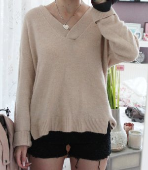 • Oversize Pullover in rosa