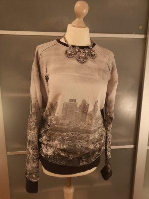oversize pullover mit Print