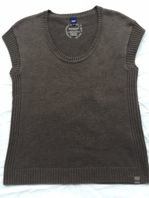 Cecil Fine Knitted Cardigan grey brown
