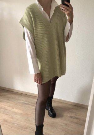 Długi sweter bez rękawów Wielokolorowy