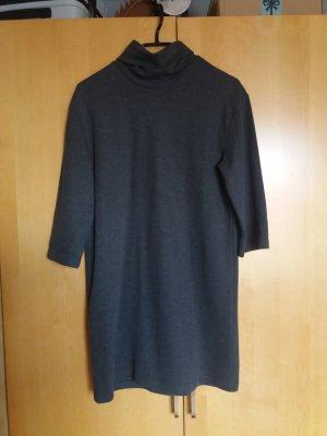 Trafaluc by Zara Vestido tipo jersey gris-gris oscuro