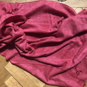 Oversize Schal Tuch Decke mit Fransen