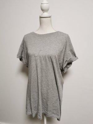 H&M Divided Camisa holgada gris claro