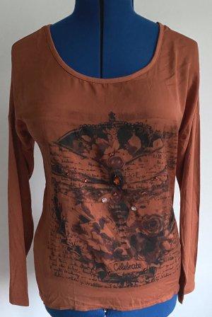 Yest Oversized Shirt russet mixture fibre