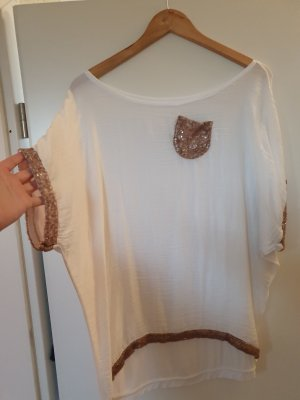 Made in Italy Camicia oversize bianco