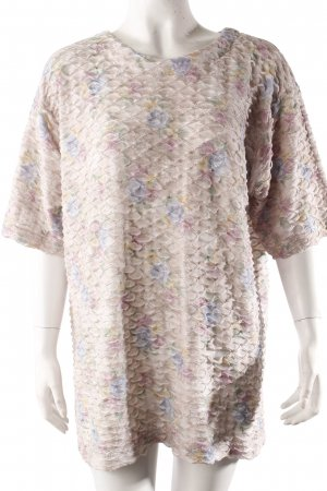 Oversize-Shirt florales Muster