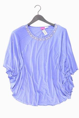 Oversized Shirt blue-neon blue-dark blue-azure
