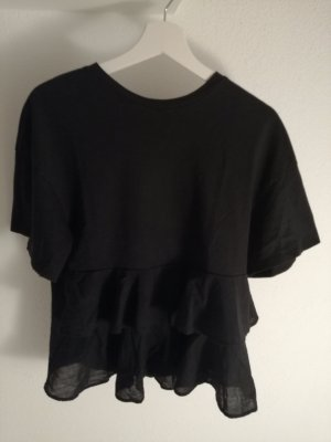 oversize Shirt mit Falten