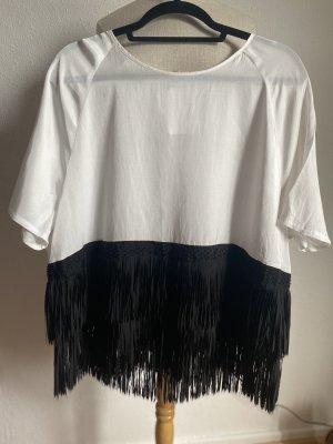 Oversize Shirt  mit Fransen