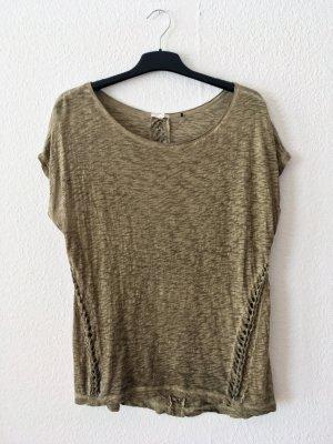 Oversize Shirt mit Lochmuster - geflochten