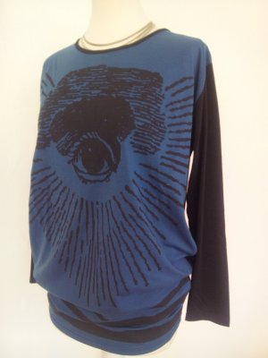Oversize Shirt mit Print