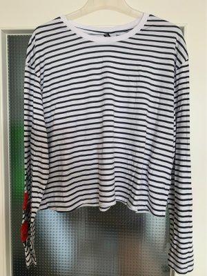 Oversize Shirt mit Stickerei von H&M Divided Größe XL