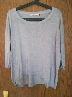 Oversize shirt only M grau