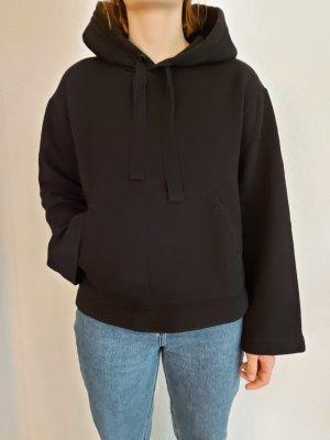 H&M Hooded Shirt black