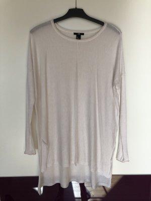 Oversize shirt Von H&M Größe S wollweiß