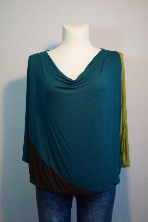 Vestino Camicia oversize multicolore Viscosa