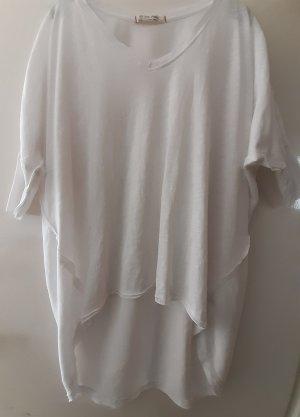 Free People Oversized Shirt white