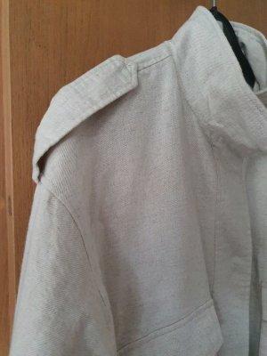 Vila Giacca taglie forti bianco sporco