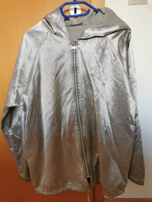 Made in Italy Oversized Jacket silver-colored-light grey