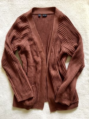 Bodyflirt Knitted Cardigan cognac-coloured-russet